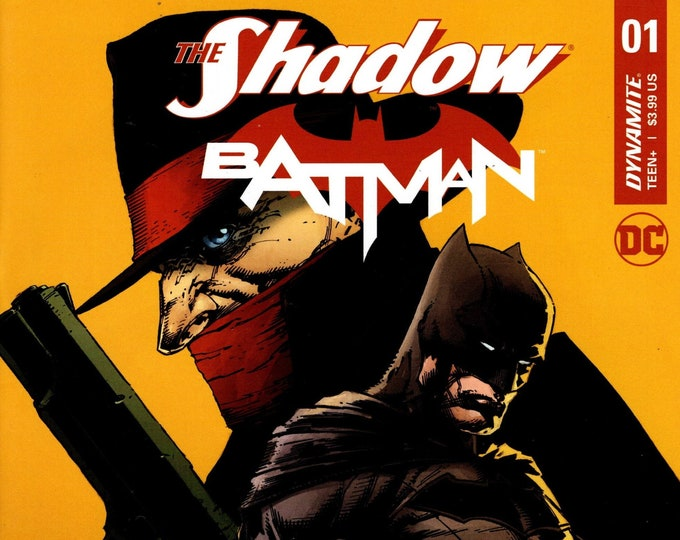 The Shadow Batman #1 October 2017 Dynamite Entertainment Grade NM