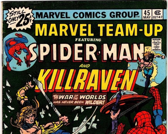 Marvel Team-Up #45 (1st Series 1972) May 1976 Marvel Comics   Grade VF
