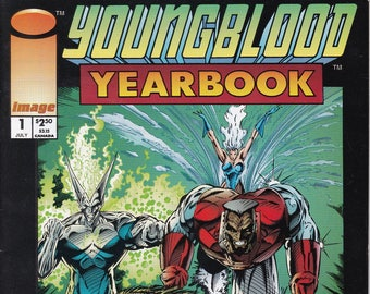 Youngblood Yearbook #1  (1992 1st Series) - July 1993 - Image Comics - Grade NM