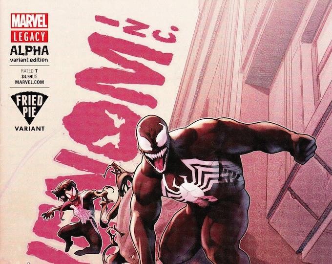 Venom Inc Alpha #1 Fried Pie Variant Cover February Issue Marvel Comics Grade NM