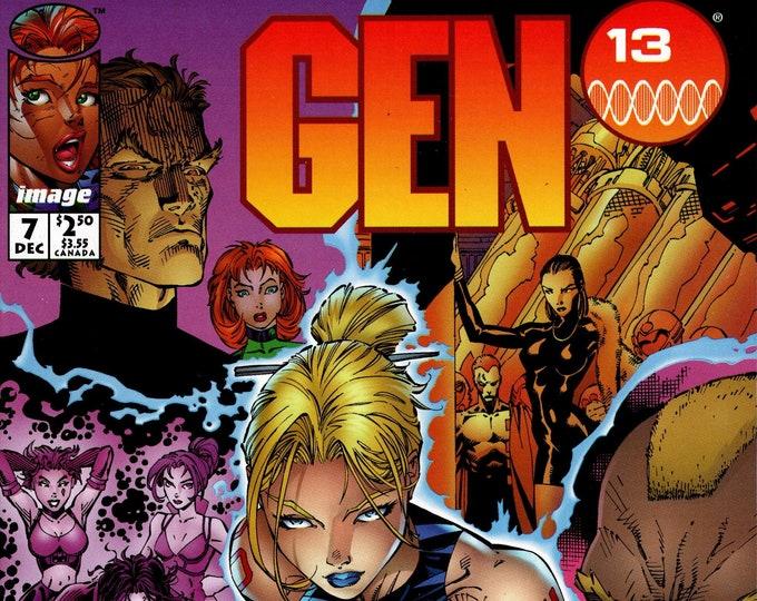 Gen 13 #7 (2nd Series 1995) January 1996  Image Comics  Grade NM