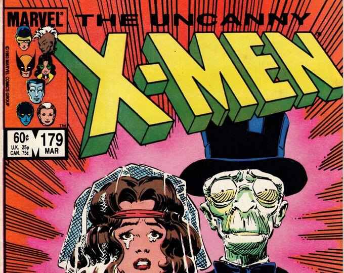 Uncanny X-Men #179  March 1984  Marvel Comics  Grade Fine