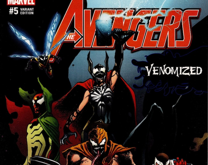 Avengers #5 Venomized Variant Cover B May Issue Marvel Comics  Grade NM