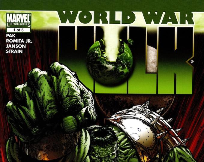 World War Hulk #1 August Issue  Marvel Comics  Grade NM
