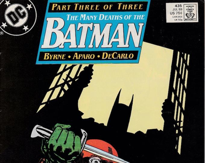 Batman #435 (1940 Series) July 1989   DC Comics   Grade VF