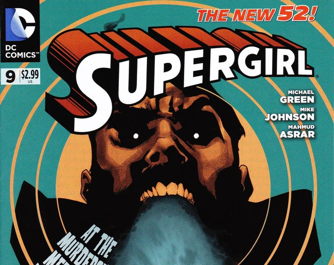 Supergirl #9 July Issue DC Comics Grade NM