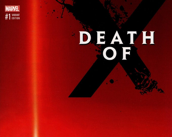 Death of X #1 Variant Cover G January 2017 Marvel Comics Grade NM