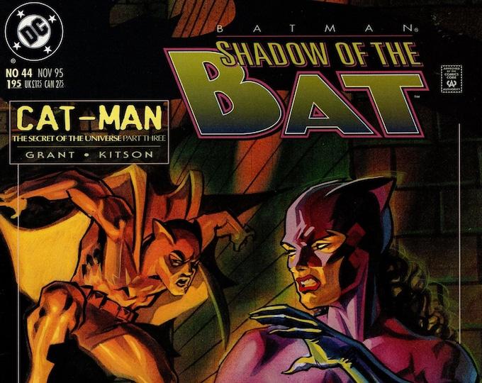 Batman Shadow of the Bat #44 November 1995    DC Comics   Grade NM