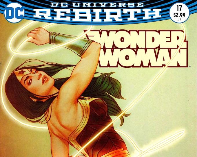 Wonder Woman #17 Cover B April Issue DC Comics Grade NM