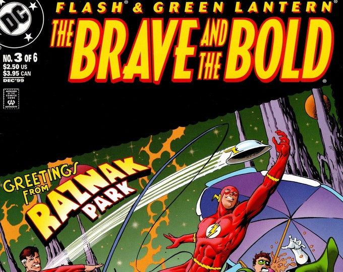 Brave and the Bold #3 (Featuring Flash & Green Lantern) December 1999  DC Comics  Grade NM