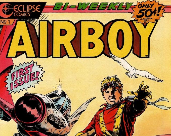 Airboy #1 (1986 Series) July 1986  Eclipse Comics  Grade NM