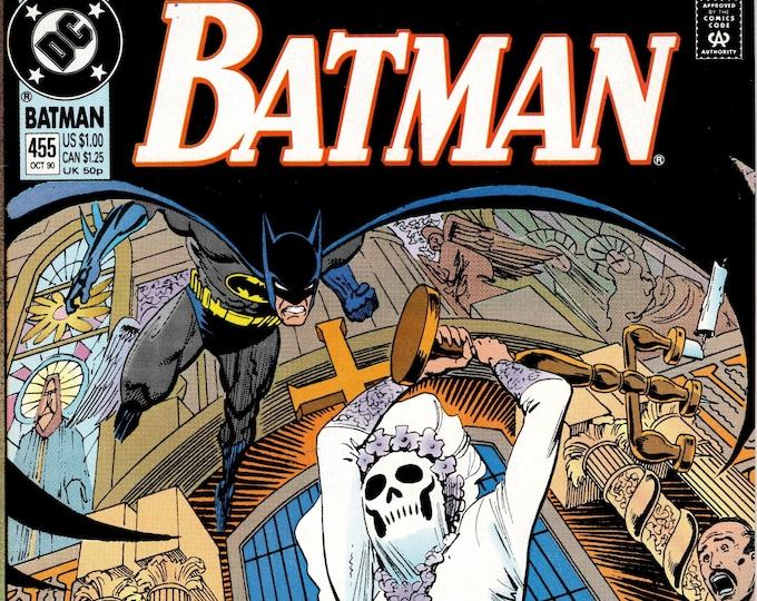 Batman #455 October 1990 Issue DC Comics Grade NM