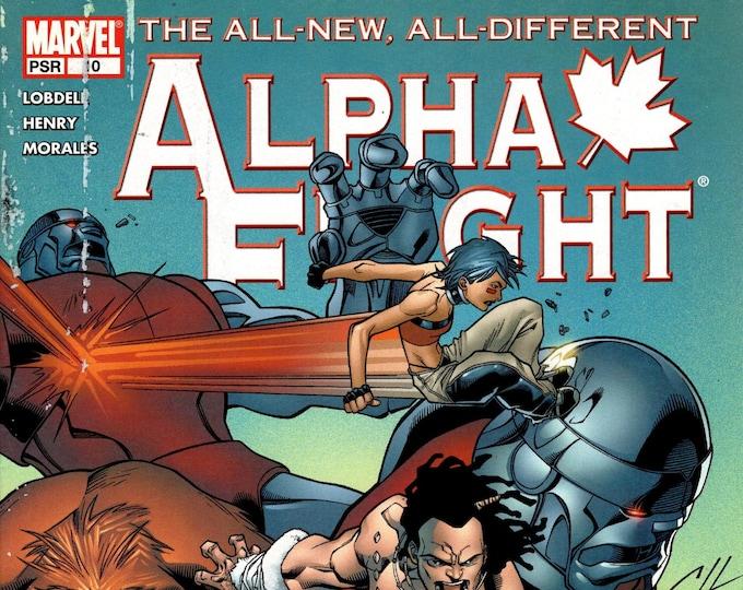 Alpha Flight #10 (3rd Series 2004) February 2005     Marvel Comics    Grade F/VF