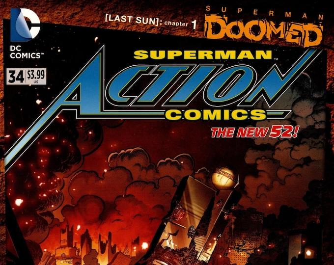 Action Comics #34 October 2014 DC Comics Grade NM