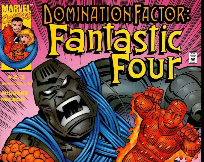 Domination Factor Fantastic Four #2.3 December 1999  Marvel Comics  Grade VF