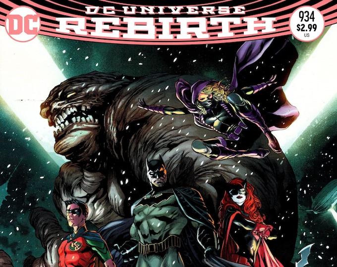 Detective Comics #934 Cover C August Issue DC Comics Grade NM