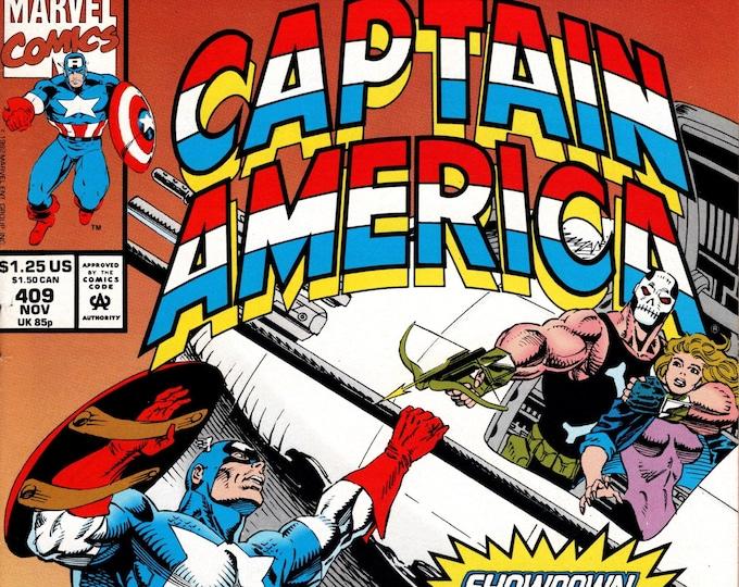 Captain America #409 (1st Series 1968) November 1992 Marvel Comics  Grade NM