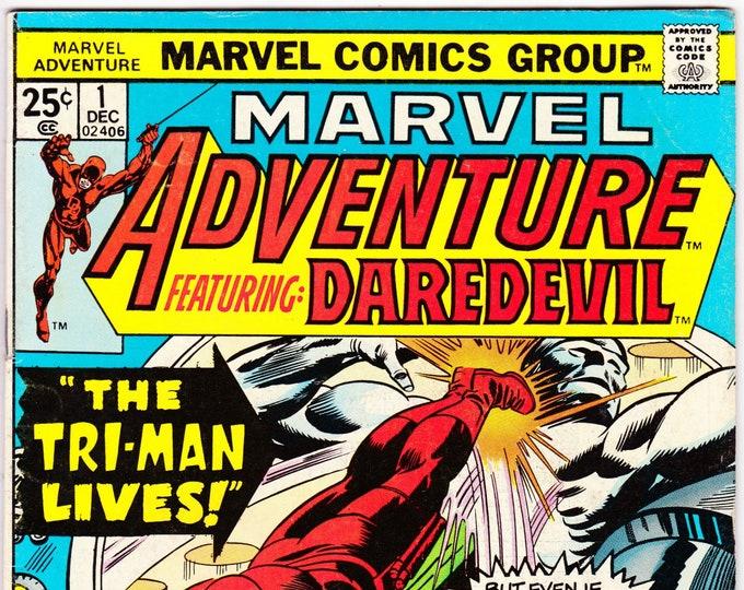 Marvel Adventure featuring Daredevil #1    February 1975   Marvel Comics     Grade F/VF