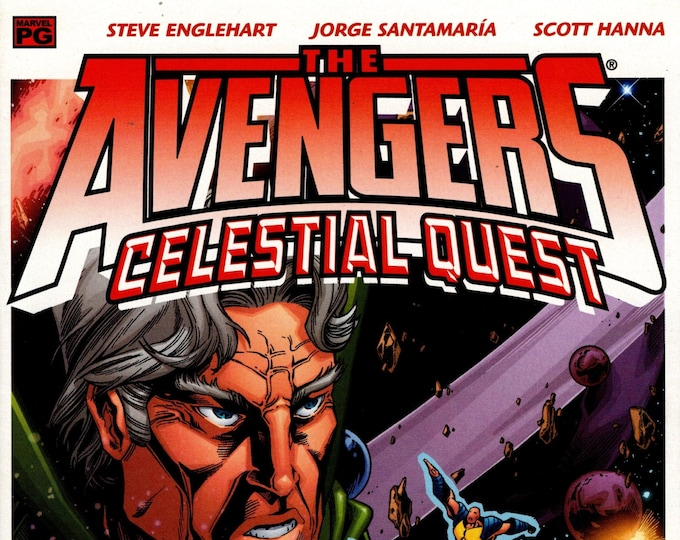 Avengers Celestial Quest #4 February 2002  Marvel Comics  Grade NM