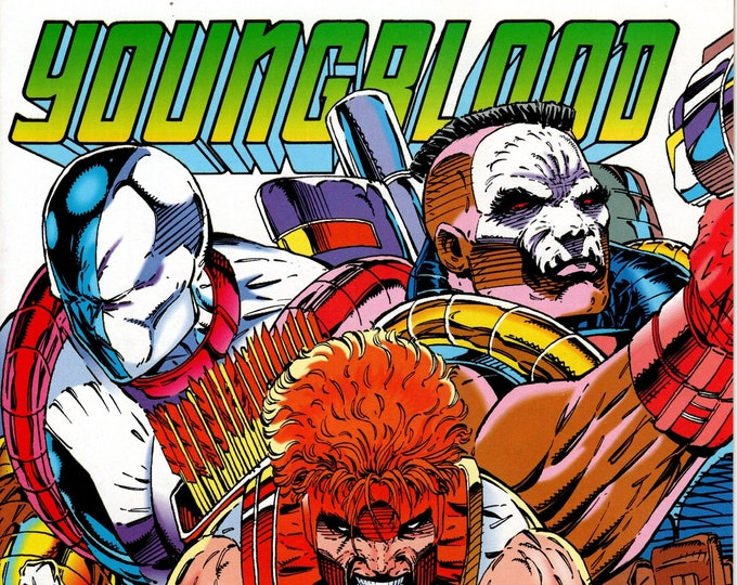 Youngblood #3 (1992 1st Series) August 1992  Image Comics  Grade NM