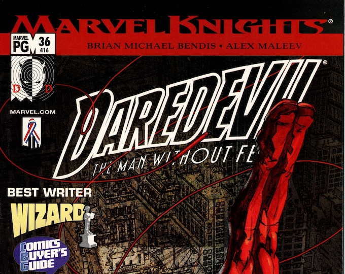 Daredevil #36 October 2002 Marvel Comics  Grade VF