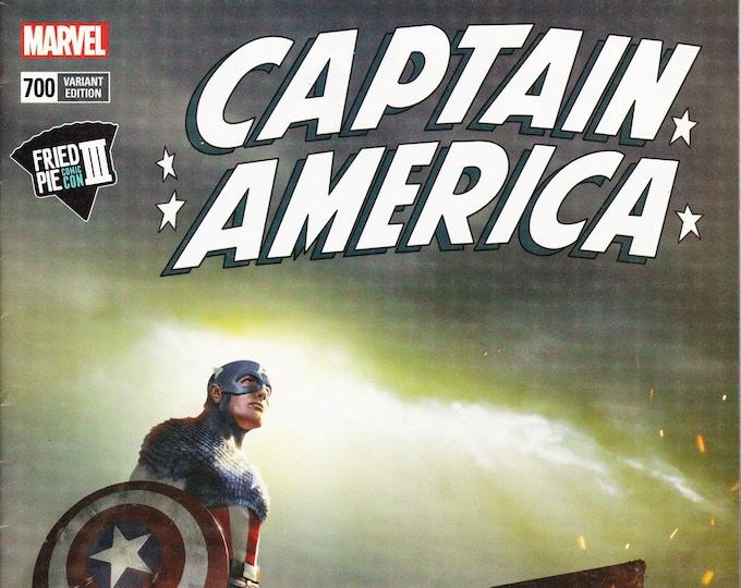 Captain America #700 Fried Pie Variant Cover June Issue Marvel Comics Grade NM