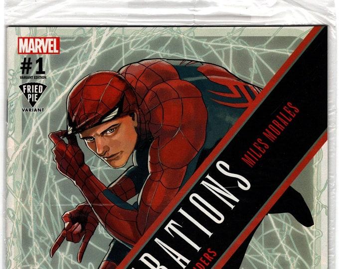 Generations: Morales and Parker Spider-Man #1  Fried Pie Variant  November 2017 Marvel Comics  Grade NM  *MIP*