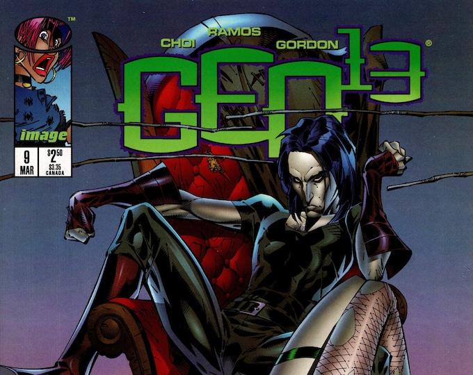 Gen 13 #9 (2nd Series 1995) March 1996  Image Comics  Grade NM
