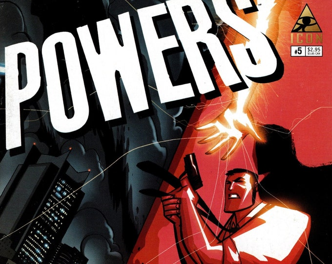 Powers #5 October 2004 Marvel/Icon Comics Grade VF