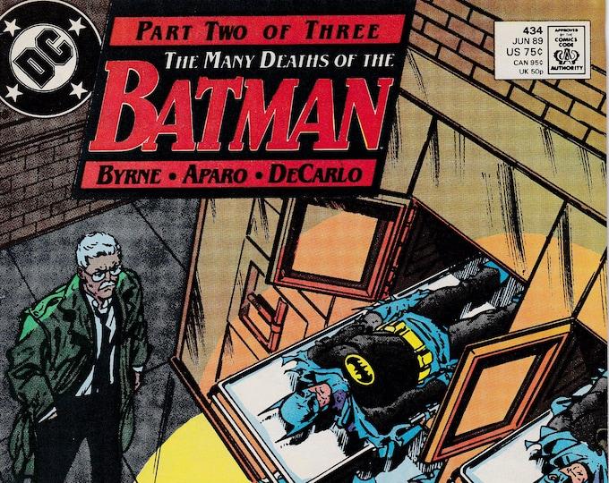 Batman #434  (1940 Series) June 1989    DC Comics   Grade VF