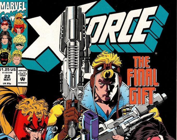 X-Force #22 (1991 1st Series)  May 1993  Marvel Comics  Grade NM