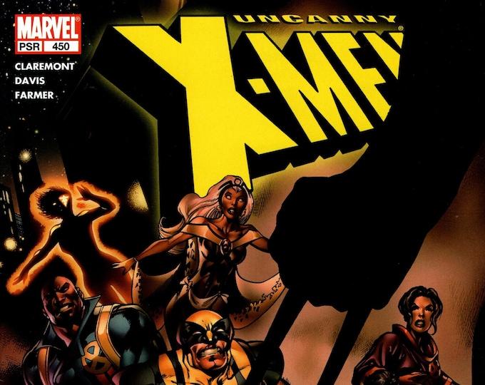 Uncanny X-Men #450 (The Cruelest Cut) December Issue  Marvel Comics  Grade NM