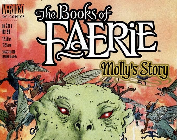 The Books of Faerie Molly's Story #2 October 1999 DC/Vertigo Comics Grade VF