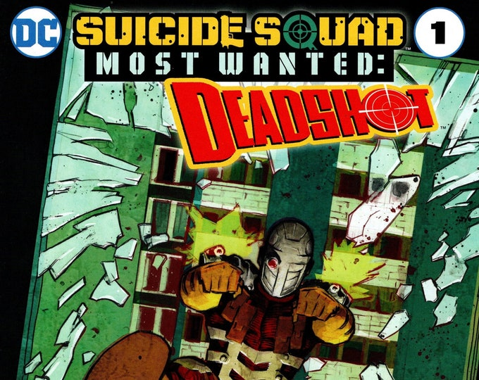 Suicide Squad Most Wanted: Deadshot #1 Walmart Exclusive Cover March 2016   DC Comics  Grade NM
