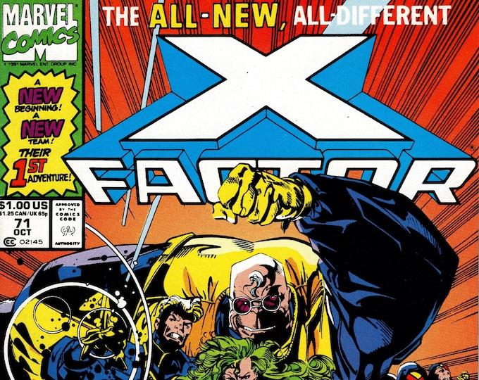 X-Factor #71 October 1991 Marvel Comics Grade NM