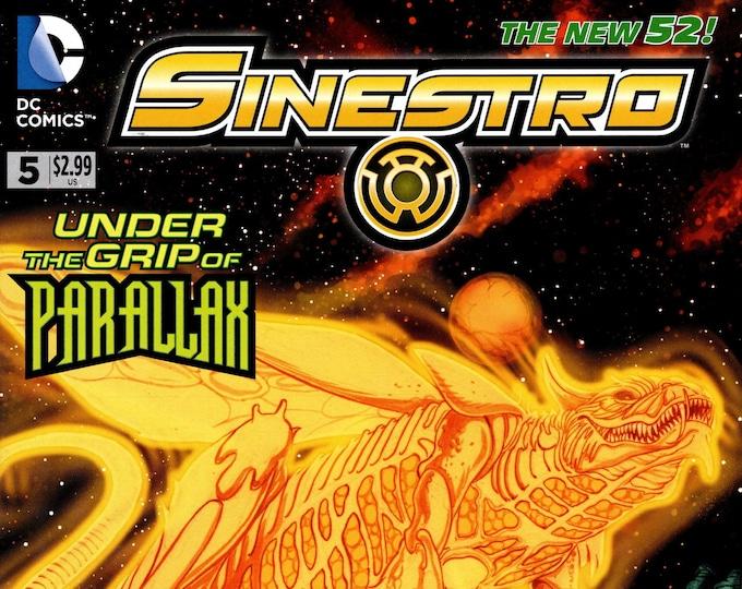 Sinestro #5 October Issue DC Comics Grade NM