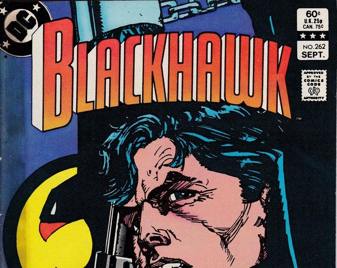 Blackhawk #262 (1944 1st Series)  September 1983 DC Comics Grade VG