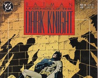 Batman Legends of the Dark Knight #14 (1989 Series) - January 1991 - DC Comics - Grade NM
