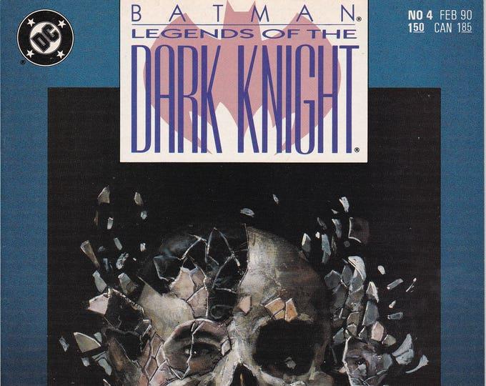 Batman Legends of the Dark Knight #4   February 1990  DC Comics  Grade NM