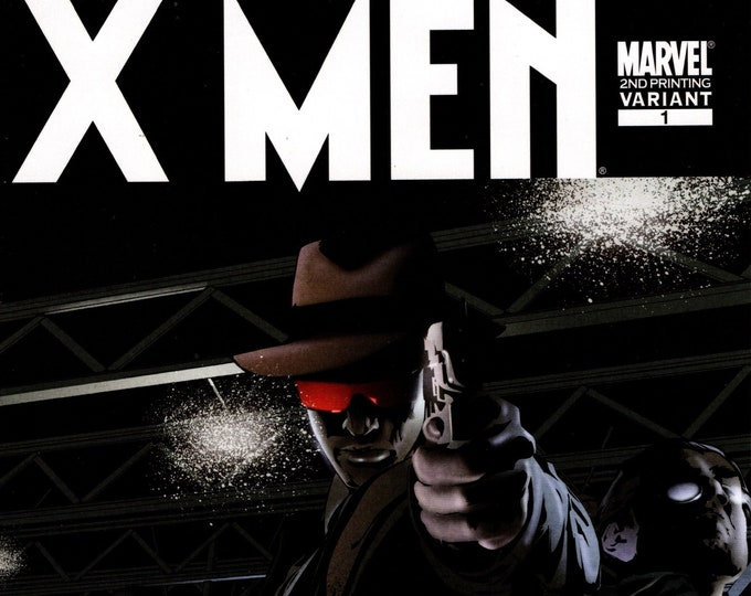 X-Men Noir #1 2nd Printing Variant Cover February Issue  Marvel Comics  Grade NM