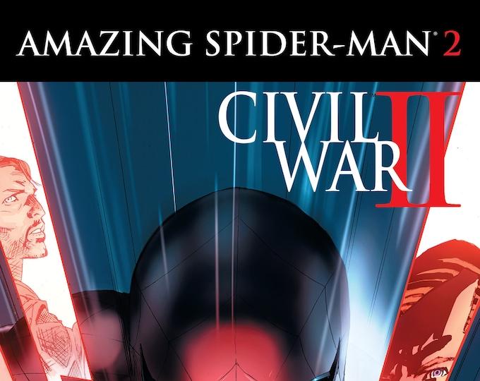 Civil War II: Amazing Spider-Man #2 September 2016 Marvel Comics Grade NM