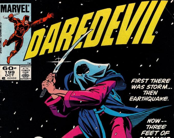 Daredevil #199  March 1983  Marvel Comics  Grade Fine