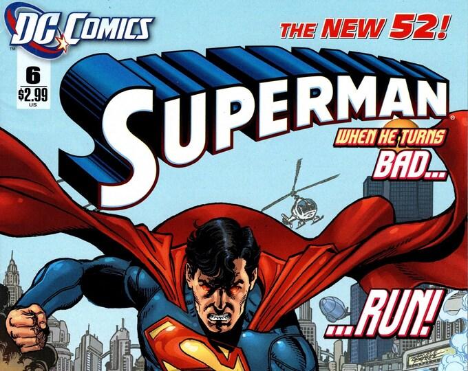 Superman #6 April Issue DC Comics Grade NM
