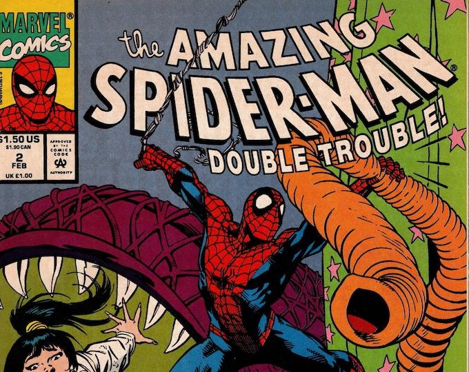Amazing Spider-Man Double Trouble #2   February 1993    Marvel Comics   Grade VF-