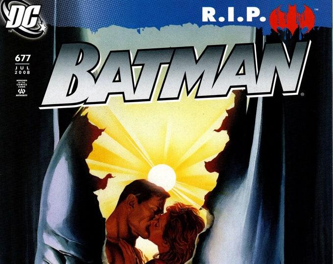 Batman #677 Cover A July Issue DC Comics Grade VF
