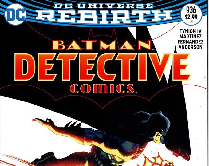 Detective Comics #936 Cover B September 2016 DC Comics Grade NM