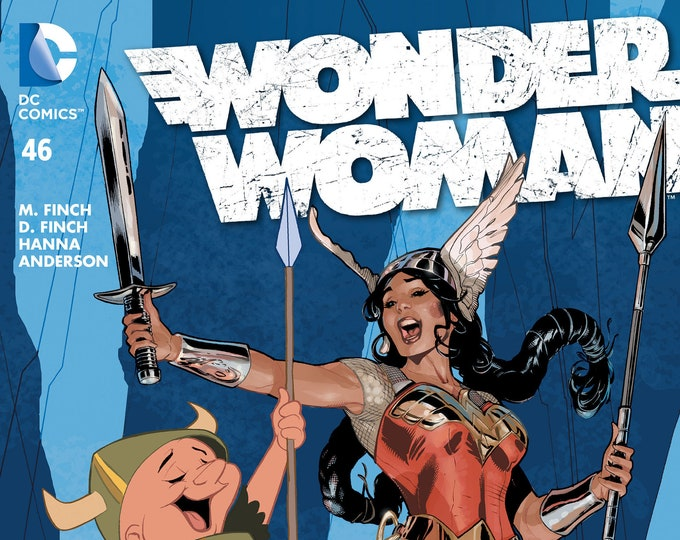 Wonder Woman #46 Looney Tunes Variant Cover March Issue DC Comics Grade NM