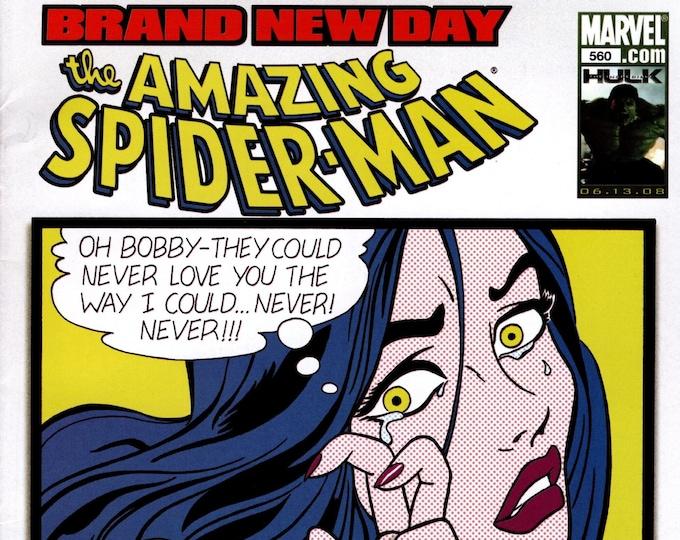 Amazing Spider-Man #560 July Issue Marvel Comics Grade NM