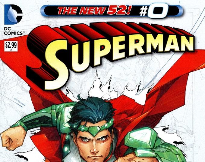 Superman #0 Cover A November 2012 DC Comics Grade NM
