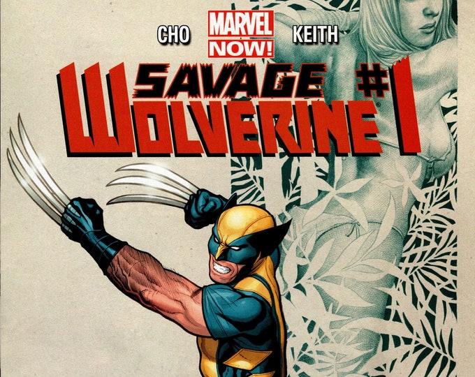 Savage Wolverine #1 March 2013 Marvel Comics Grade NM